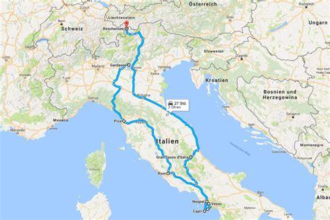 Italien Rundreise Auto 2 Wochen by Roadtrip Italien Routen Tipps 10 Reisebloggern