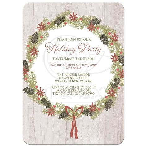 invitation card for christmas day merry christmas happy new