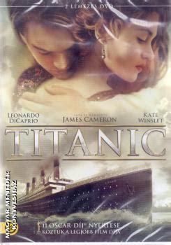 film titanic résumé titanic dvd james cameron cd dvd intercom dvd magyar