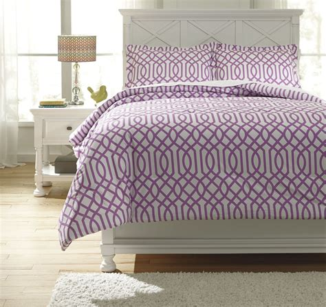 lavender twin comforter loomis lavender twin comforter set from ashley q758021t