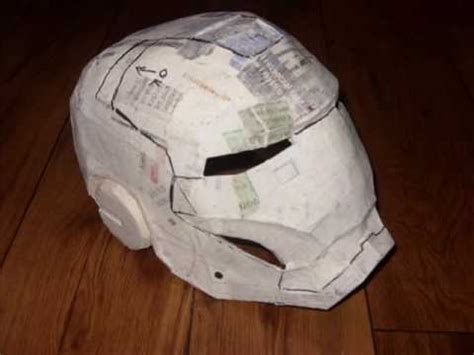 How To Make Iron Mask Out Of Paper - iron helmet