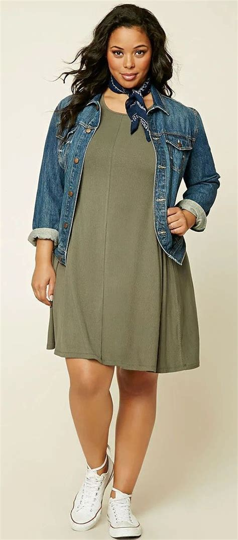 plus size outfit summer casual work outfits ideas for plus size 69