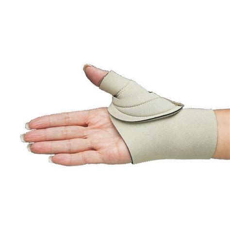 comfort cool hand brace comfort cool thumb cmc restriction splint opc health