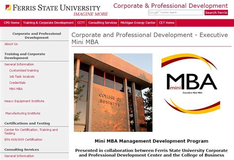 Ferris State Mba by American Center For Educational And Professional Services