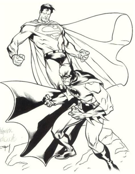 printable batman vs superman coloring pages for kids