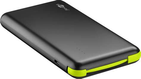 Powerbank Slim 80 000mah usb powerbank mit 8 000mah im slim design wattgeizer