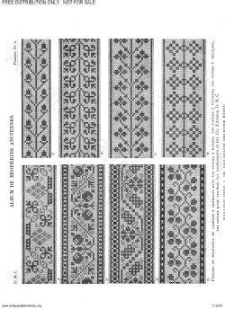 antique pattern library dmc apl c ik001 dmc old cross stitch overview page