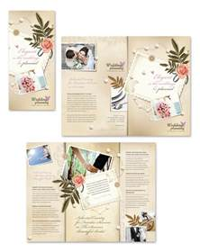 wedding planner brochure template wedding planner tri fold brochure template
