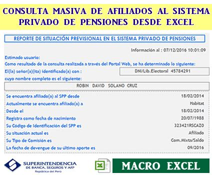 Consulta De Ci Welleadsorg   consulta masiva de afiliados al spp