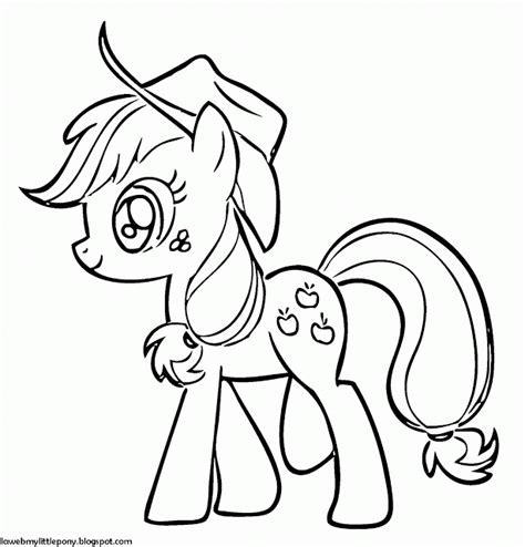 imagenes de apple jack de my little pony my little pony dibujos para colorear de applejack de my