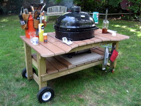 homemade grill table 10 easy diy designs easy diy and crafts