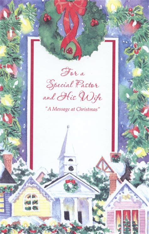 wreath church pastor christmas card  freedom