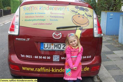 Autowerbung Kinder by Raffini Kinderevents Autowerbung 17 Raffini