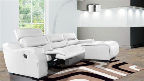 canape relax cuir blanc le mobiliermoss soldes d hiver 2016