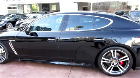 porsche panamera turbo black 2010 porsche panamera turbo black on black at beverly
