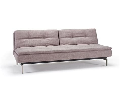 Upholstered Sofa Bed Grey Contemporary Fabric Upholstered Sofa Bed With