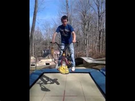 travis pastrana house troline bike at travis pastrana house youtube