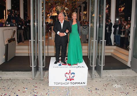 Kate Moss Shows Us Topshop Goodies In Store Today by Topshop Topman Store Opening Ribbon Cutting Ceremony Zimbio