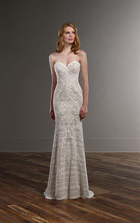wedding dresses lace  satin wedding dress martina
