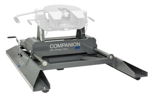 5th wheel hitch for short bed b w hitches rvb3405 companion sliding 5th wheel hitch base