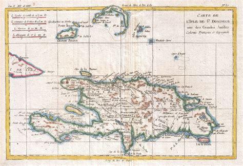 hispaniola map datei 1780 raynal and bonne map of hispaniola west indies