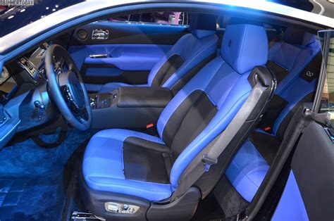 rolls royce blue interior rolls royce debuts black badge series wraith and ghost