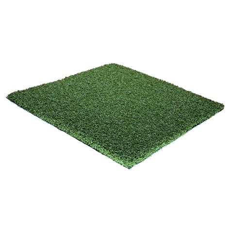 lowes artificial grass shop synlawn syngreen 1 12 ft wide bermuda cut to length artificial grass at lowes