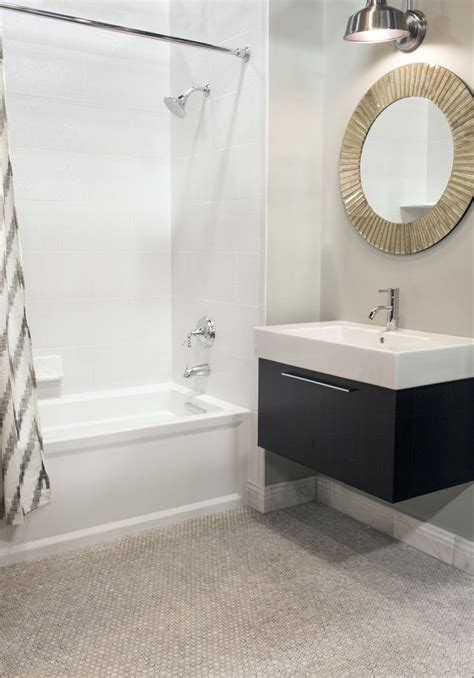 penny tiles bathroom penny for your thoughts this modern bath features glossy