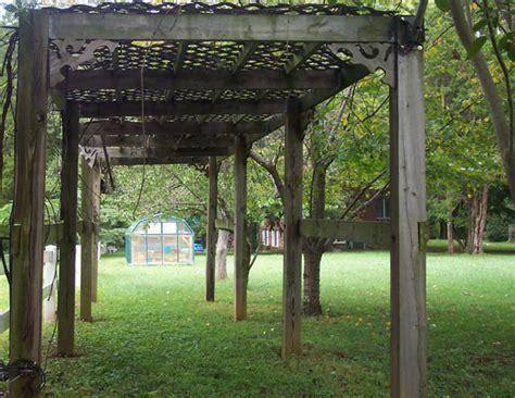 grape arbor build a grape arbor plans free