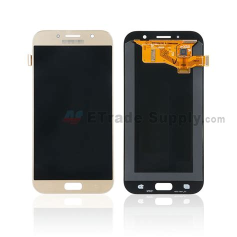 Samsung Galaxy A7 2017 Free Ringstand Tongsis samsung galaxy a7 2017 sm a720 lcd screen and digitizer assembly gold with logo grade s