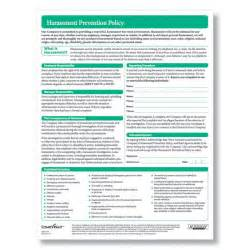 Sexual Harassment Policy Template by Harassment Employee Policy Form For Preventing Workplace