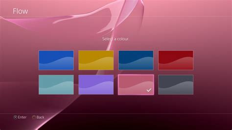 changing themes on ps4 how to change your ps4 s background colour guide push