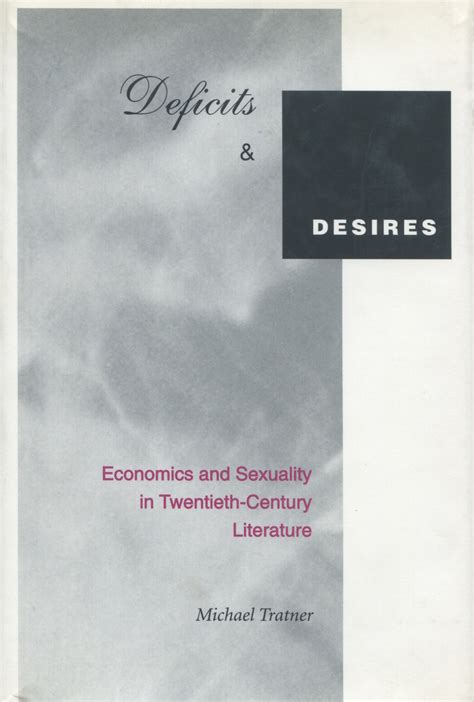 reference books in economics cite deficits and desires economics and sexuality in