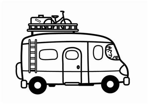 coloring page for van van coloring pages 12