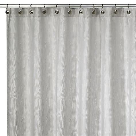 kenneth cole shower curtain kenneth cole reaction 174 home wood grain shower curtain