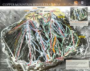 copper mountain trail map copper mountain ski map copper