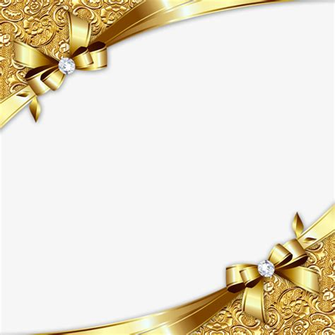gold wedding border png gold diagonal border golden business card frame png and