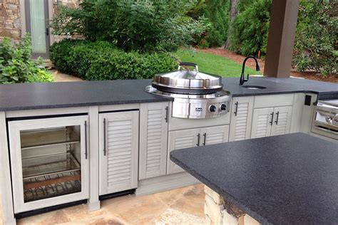 outdoor kitchen cabinets naturekast outdoor summer kitchen cabinet gallery