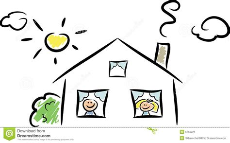 happy home ii stock image image 6756221