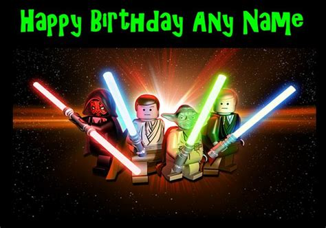 wars lego birthday lego wars personalised