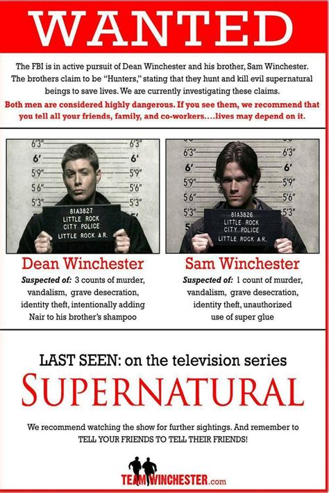 Poster The From 3 40x60cm 556 best supernatural images on supernatural stuff and pictures