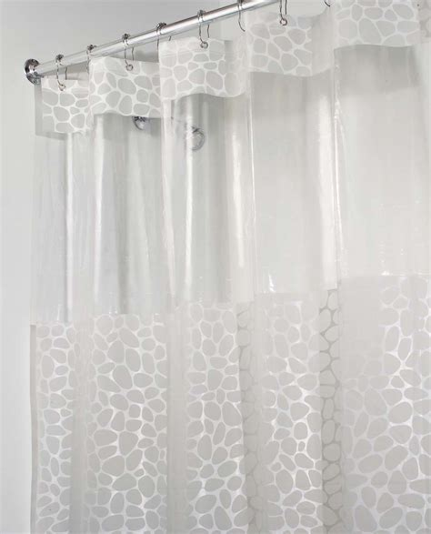 shower curtain for stall shower pebblz view stall shower curtain colonialmedical com