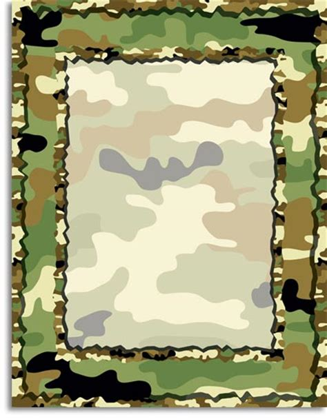 army pattern border quick view pdp222 quot camouflage paper quot