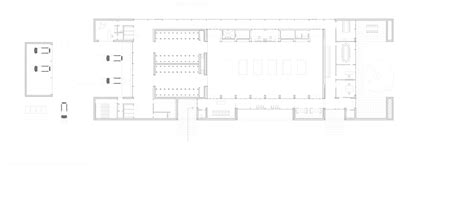 crematorium floor plan communal crematorium henning larsen architects archdaily