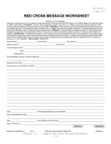 red cross message form pdf fill online printable