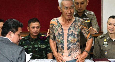 yakuza tattoo in deutschland wegen auff 228 lliger tatoos yakuza mitglied in thailand