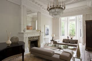 Viktorianisches Wohnzimmer front traditional living room new york by