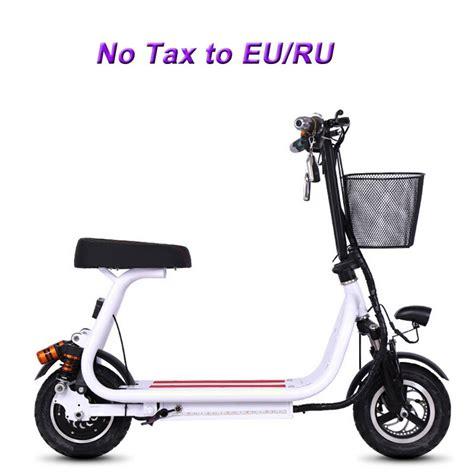 pouces velo electrique scooter electrique mini deux