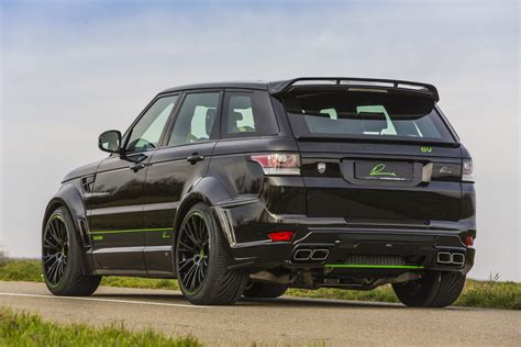 modified range rover sport official lumma design range rover sport svr gtspirit
