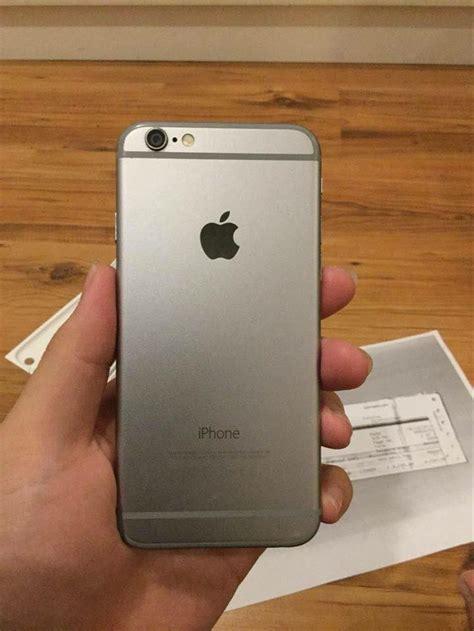 jual apple iphone   gb grey smartphone  lapak tokome